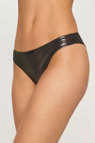 Plavkové kalhotky Calvin Klein z lesklého elastického materiálu