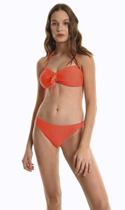 klasické plavkové kalhotky oranžové