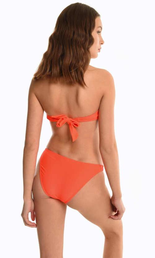 oranžový spodní díl bikin
