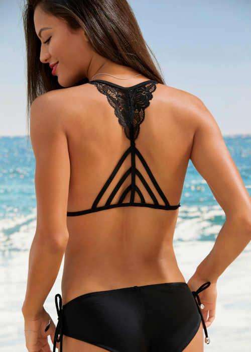 moderní dvoudílné trojúhelníkové plavky