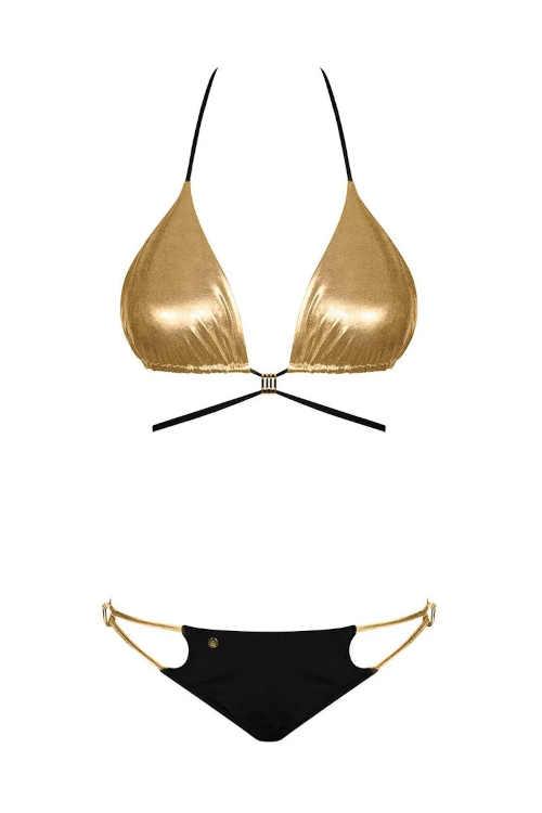 dámské dvoudílné plavky v sexy střihu