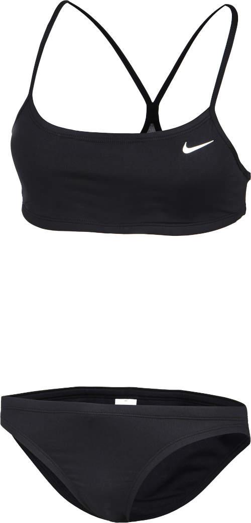 Černé sportovní dámské značkové plavky