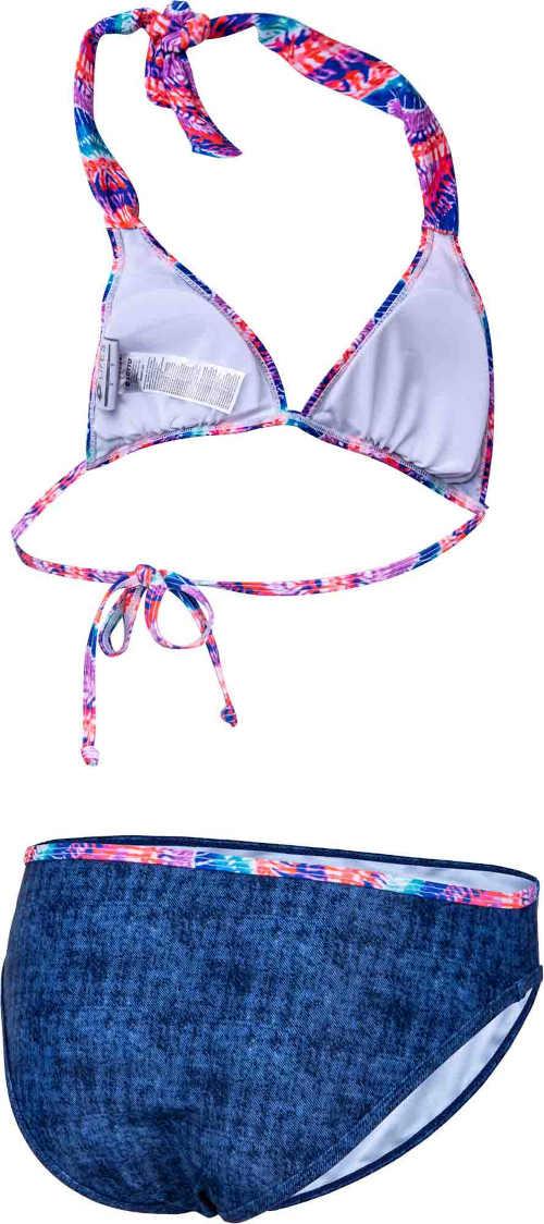 vzorované dvoudílné dámské plavky